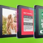 Iadea-Display kombiniert Digital Signage mit Konferenzraumbelegung