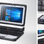 Robustes Panasonic-Notebook deckt sechs Einsatzszenarien ab