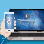 Sichere Anmeldung durch Smartphone-Schnittstelle für Microsoft-Bitlocker